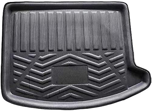 Coche Goma Alfombrillas Maletero Para Ford Escape Kuga 2013-2019, Impermeable Antislip Antisuciedad Boot Liner Mat Protectora Alfombra Accesorios