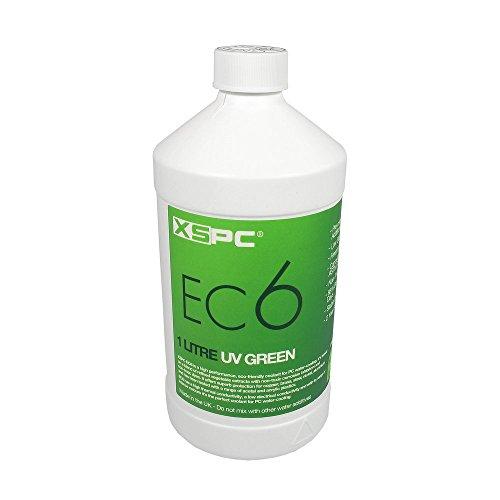XSPC XS-EC6-GRN Refrigerante no conductivo, UV Verde