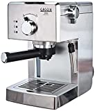 Gaggia RI8437/11 Viva Prestige Macchina da Caffè Espresso Manuale, per Macinato e Cialde, 1025W, 15 bar, Acciaio Inox