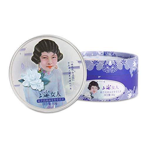 ANTIGUO SHANGHAI Crema Hidratante Crema Hidratante Crema Reafirmante Edad Desafiante Hidratante Cuidado de Piel Vintage Regalo 80g (Gardenia)