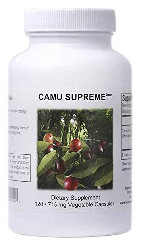 Supreme Nutrition Camu Supreme, 120 Vegetarian Capsules | 30 Servings | 2,860 mg per Serving