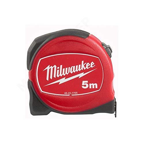Milwaukee 0 Maßband, dünn, 5 m / 19 mm