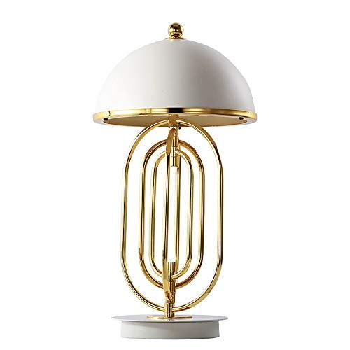 Bradoner Lámpara de mesa decorativa minimalista de lujo posmoderna para sala de estar, estudio, personalidad creativa, estilo nórdico, lámpara de mesa giratoria 30 x 60 cm