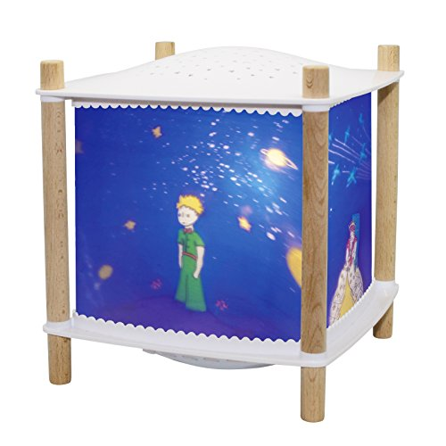 Trousselier - Der kleine Prinz St Exupery - Nachtlicht - Magische Laterne ReVOLUTION 2.0 - Geburtsgeschenk - Sternenprojektor - Musik & Geschichten für Kinder im Streaming - Schrei detektor - Akku