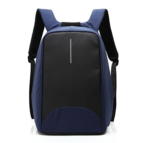 De nieuwe anti-diefstal computer rugzak heren business laptoptas rugzak studententas, blauw (blauw) - 5315345515238