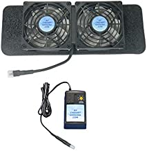 Dish VIP-722, 622, 922 and 612 DVR Dual-Cooling Fans with Multi-Speed Control