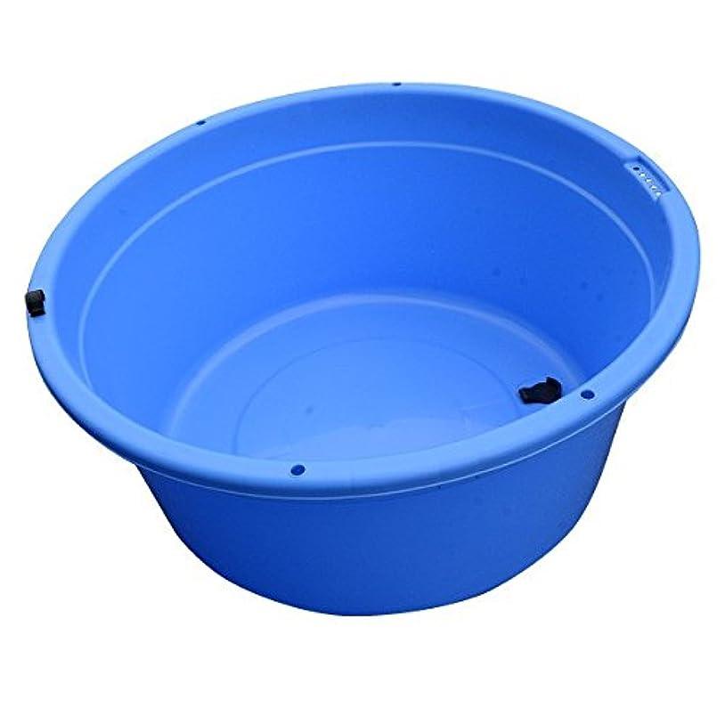 キャプテン必要性上記の頭と肩丸タブ100 ブルー ポリ容器