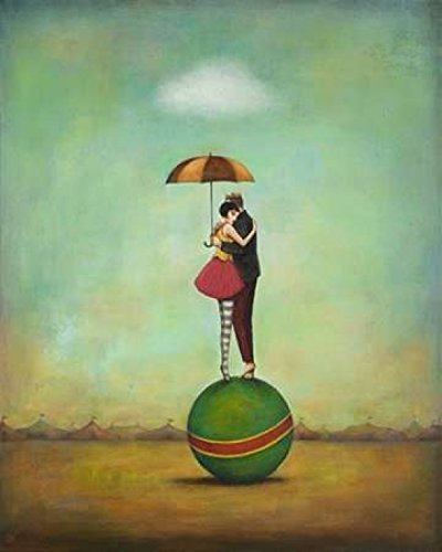 The Poster Corp Duy Huynh – Circus Romance Kunstdruck (60,96 x 76,20 cm)