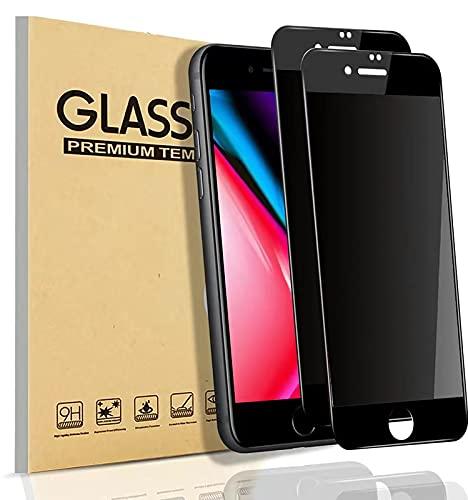 【覗き見防止】 iPhone8P ガラスフィルム iphone7P フィルム のぞき見防止 iphone8+/7+ 保護ガラス アイフォン7プラス ガラスフィルム のぞき見 iPhne8プラス 携帯フィルム【貼り付け簡単/気泡ゼロ/割れない】