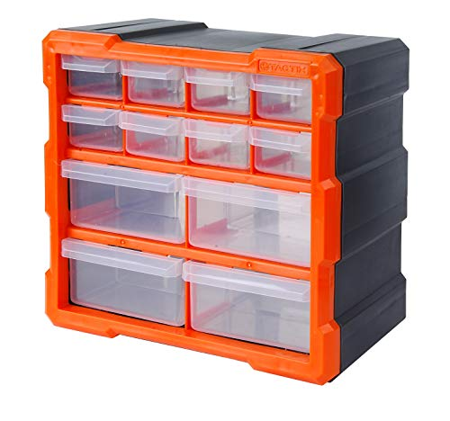 Tactix 320630 12 Drawer Cabinet, Storage & Hardware Parts Organizer