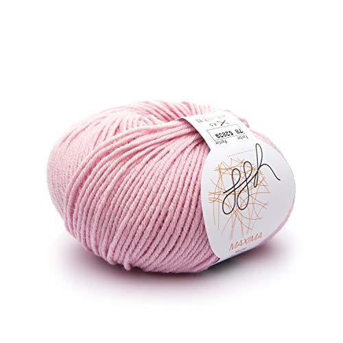 ggh Maxima - 078 - Rosa polvere - Lana merino per maglieria e uncinetto