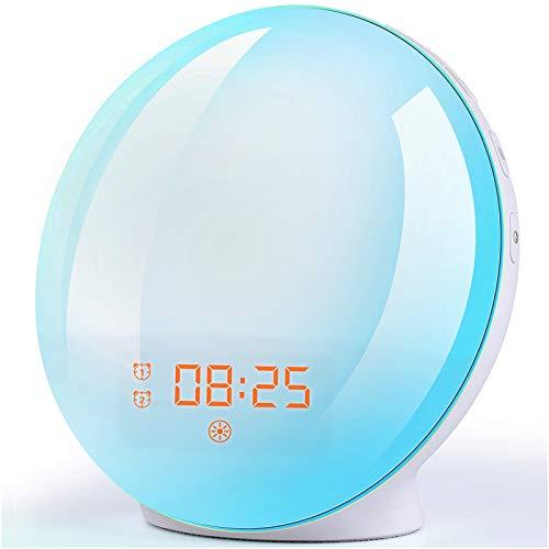 (Diskon 32%) Jam Alarm Simulasi Matahari Terbit / Terbenam $ 25.83