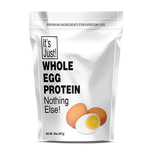 It's Just - Whole Egg Protein Powder, Made in USA, Non-GMO (20oz)