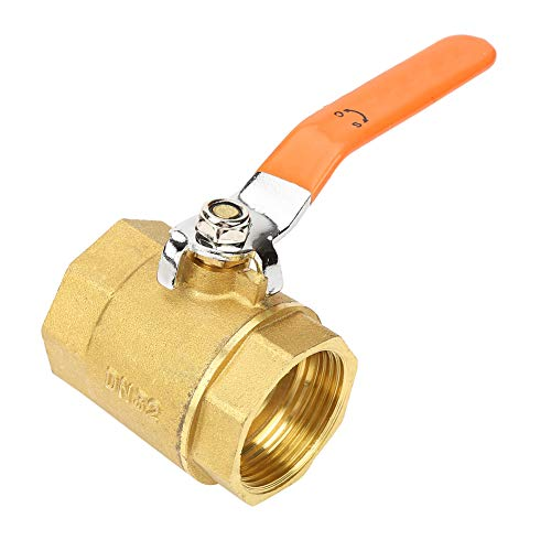 Omschakelklep voor zwembad en spa, volledig metalen behuizing 1 st DN32 1-1 / 4BSP messing kogelkraan 1.6 MPa met hoog debiet voor water, olie en gas
