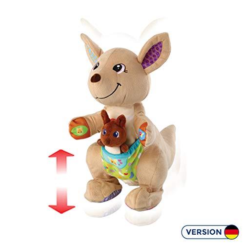 Vtech 80-522604 Hüpf-mit-mir-Känguru, Babyspielzeug, Normalverpackung, Mehrfarbig