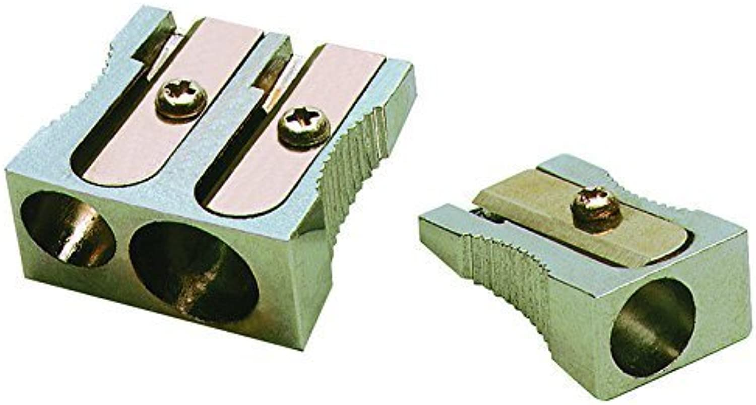 Charles Charles Charles Leonard Inc., Pencil Sharpener - Metal - Two Hole - Rectangular - 1 each, 77755 by Charles Leonard Inc. (English Manual) B00NZFXXEW    | Exquisite (in) Verarbeitung