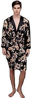 Black Silk Robe For Men