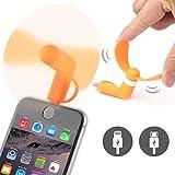 ONX3 Orange Micro USB Connector Portable Pocket Mini Mobile