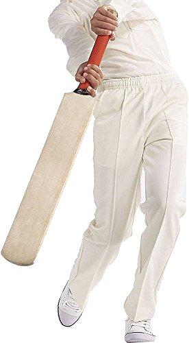 Blue Max Herren Sportswear unten Lancaster Cricket Whites Pant Vlies, Mehrfarbig - Multi, 40W / 42L