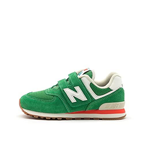 New Balance 574 sneaker Verde da bambino PV574HE2