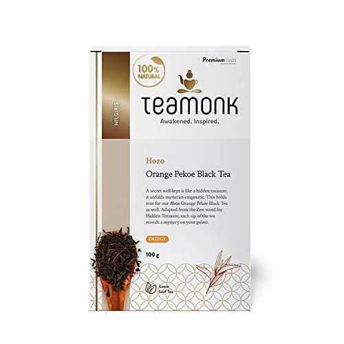 Teamonk Orange Hozo Pekoe Black Tea , 100g (50 Cups)