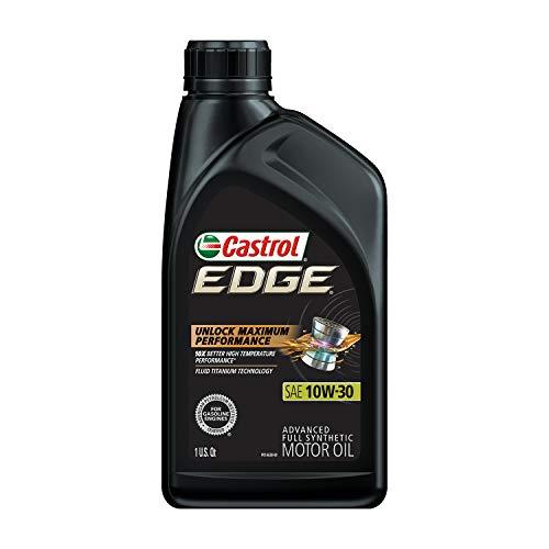 Castrol 06245 Edge 10W-30 Advanced Full Synthetic Motor Oil, 1 Quart, 6 Pack