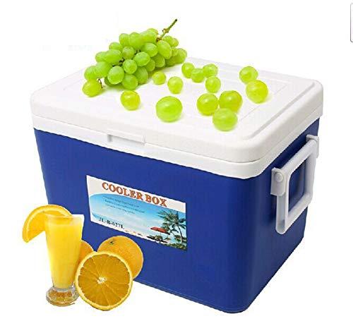 X&HUI Outdoor koelbox plastic Isolatie Draagbare Picknick Vissen Voedsel Vervoer Grote Camping auto Waterdicht Geïsoleerde Lichtgewicht 27L rugzak