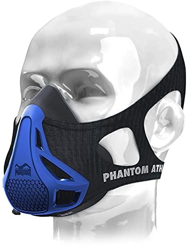 Phantom Athletics Erwachsene Training Mask Trainingsmaske - Blau