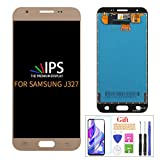 A-MIND for Samsung J327A LCD Display Screen Replacement Galaxy j3 2017 Prime/Emerge J327 J327A J327V J327P J327T1 J327R4 Touch Screen Digitizer Assembly Parts with Repair Tools & Screen Protector