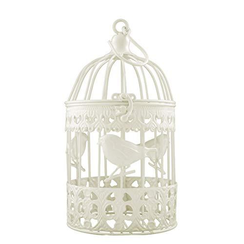 motif d/écoratif style europ/éen Creative Home Cage /à oiseaux EN M/ÉTAL Craft D/écoration Lubier Evide fer Art Bougeoir