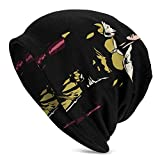 XCNGG Chapeaux Casquettes Skullies Bonnets One-Punch Man Men's and Women's Pullover Caps, Casual Beanies, 3D Printing Caps, Outdoor Warm and Windproof Caps