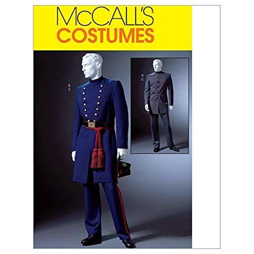 【McCall】コスチューム 将校・軍服 型紙セット サイズ:Sml-Med-Lrg