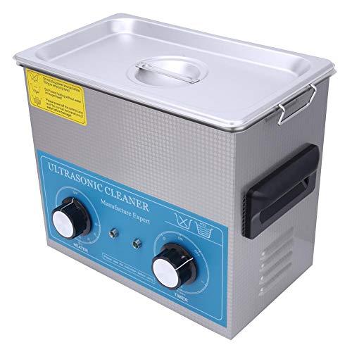 4.5L Pulitore ad ultrasuoni Pulitore ad ultrasuoni professionale Macchina per la pulizia dei gioielli Acciaio inossidabile Meccanismo Meccanico Riscaldamento Forniture per la pulizia (Spina UE)