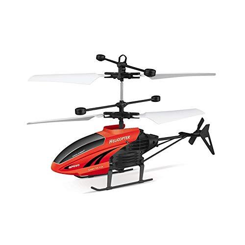Lihgfw RC, 2.5 canali, Robusto Materiale della Lega, giroscopio stabilizzatore e Il più Alto e Bassa velocità, Drone Multi-Protezione for i Bambini ed i Principianti To Play Black/Red