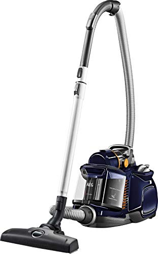 AEG Lx7-2-Db-P Aspiradora Sin Bolsa, 750 W, 72 Decibeles, Azul