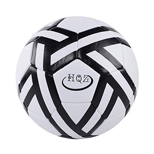 LDLXDR Balones de fútbol de competición- Material Especial de EVA para fútbol Infantil y fútbol Juvenil Talla 4, 5,Black,5size