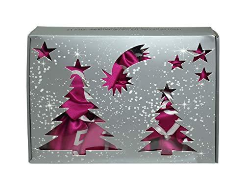 British Continental Adventskalender pink, 1er Pack (1 x 24 Stück)