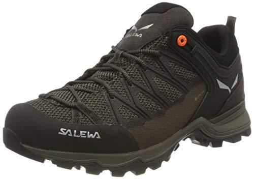 Salewa Herren MS Mountain Trainer Lite Gore-TEX Trekking- & Wanderstiefel, Wallnut/Fluo Orange, 43 EU