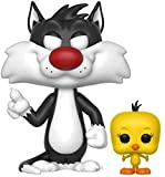 Funko - Pop Looney Tunes Sylvester & Tweety Figurine, 21975 21975