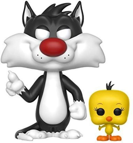 Funko 21975 Sylvester and Tweety POP Vinyl Looney Tunes S1, Multi, Standard