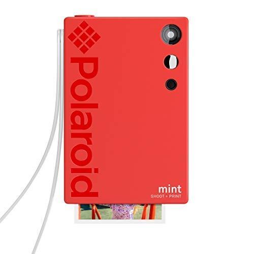Polaroid Mint Instant Print Digital Camera (Red), Prints on Zink 2x3...