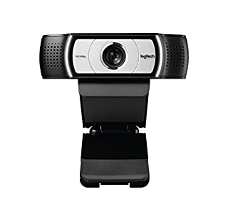 Logitech C930e Business Webcam, Video-Llamadas Full HD 1080p/30fps, Corrección y Enfoque Automáticos, Zoom 4X, Tapa de Privacidad, Skype Business, WebEx, Lync, Cisco, PC/Mac/Portátil/Macbook/Chrome (B00CES5A60)   Amazon price tracker / tracking, Amazon price history charts, Amazon price watches, Amazon price drop alerts