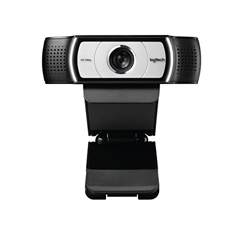Logitech C930e Business Webcam Full HD 1080p 90 Blickfeld 4 fach Zoom Autofokus RightLight 2 Technologie Abdeckblende Fur Skype Business WebEx Lync Cisco etc PCMacChromeOS Schwarz