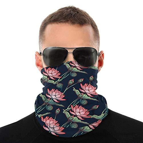 TGSCBN i Love You Headwear Headband Multifunctional Scarf Bandana Face Field for Women Men
