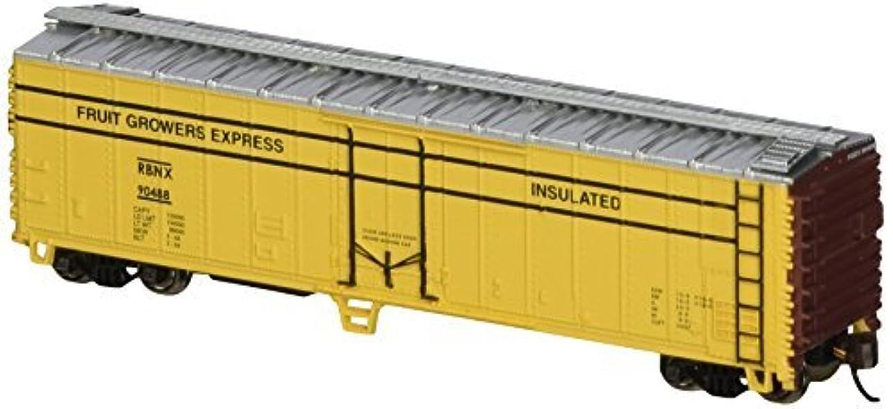 唇リンス選択するBachmann Industries ACF 50' Steel Reefer Fruit Growers Express Car N Scale [並行輸入品]
