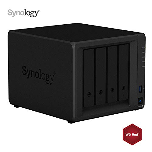 Synology DS918+ 8GB NAS Negro 24To