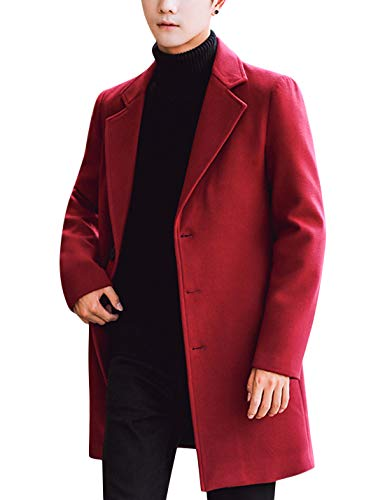 Red Trench Coat Mens