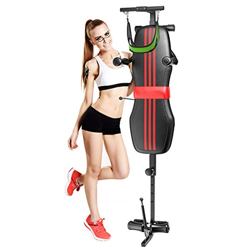 Fan-Ling Back Stretch Bench Traction Bed,Spine Traction Lumbar Cervical Massage Stretching Body...