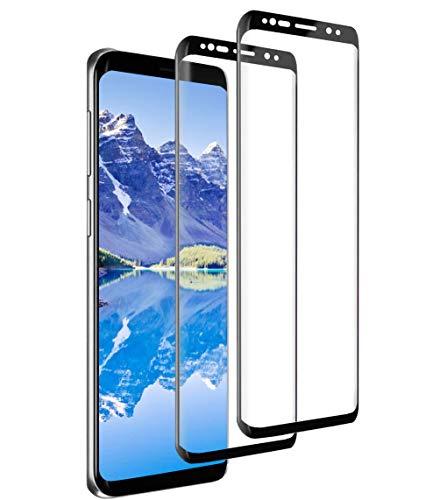 [2 Stück] Panzerglas Schutzfolie für Samsung Galaxy S9, 9H Härte 3D Volle Abdeckung Panzerglasfolie,Anti-Kratzen Anti-Öl Blasenfrei HD Displayschutzfolie für Galaxy S9