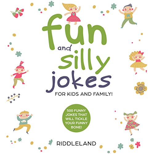 Fun and Silly Jokes for Kids and Family audiobook cover art